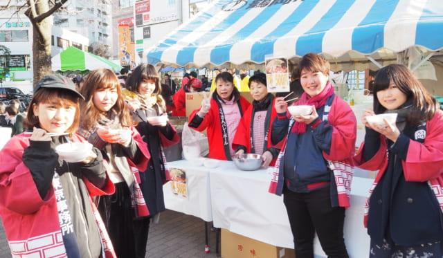 寒鱈まつり in 江戸川区