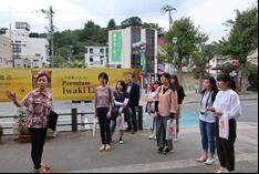 【学生レポート】小林千賀子さんのガイドによる「いわき湯本温泉 まち歩き」