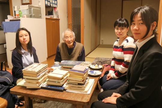 長崎で被爆した方のお話しを伺って参りました。