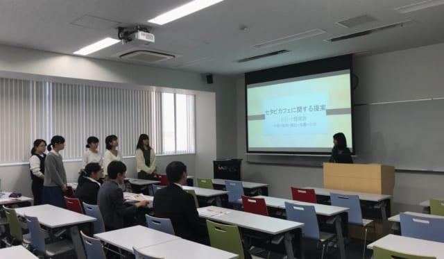 世田谷サービス公社の方々へ企画案のプレゼンテーションを行いました。