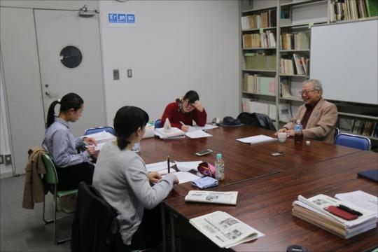 長崎被爆者・木戸季市さんへのインタビューをおこないました