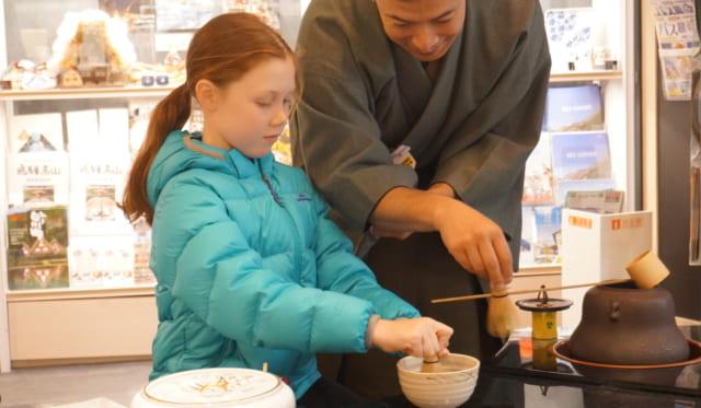 "Please come to experience ""tea ceremony"" !!"