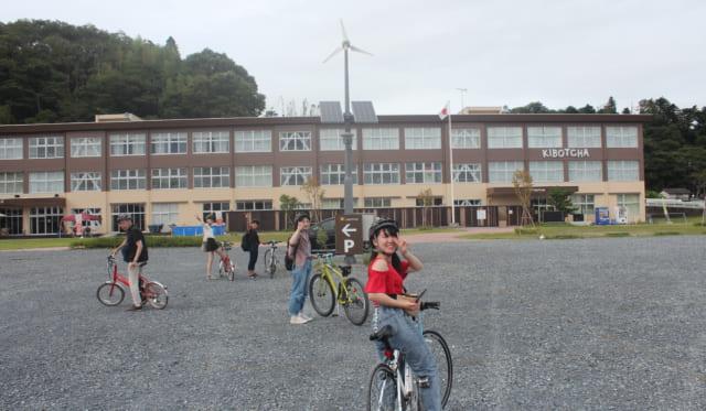 【学生レポート】現地訪問(5)石巻サイクリングの別コース、奥松島を目指したものの途中で予定を変更し、東松島市震災復興伝承館、KIBOTCHA