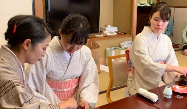 東伊豆町訪問(女将体験)