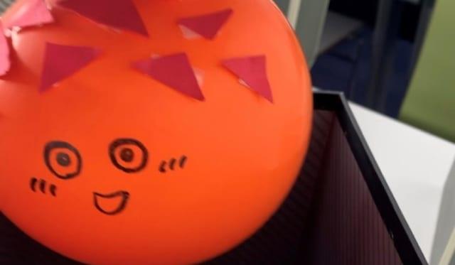 【秋桜祭振り返り】学生レポート(3)びっくり箱を開けると宮城県名産の「ほや」が登場!